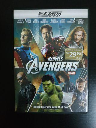Marvel's Avengers DVD