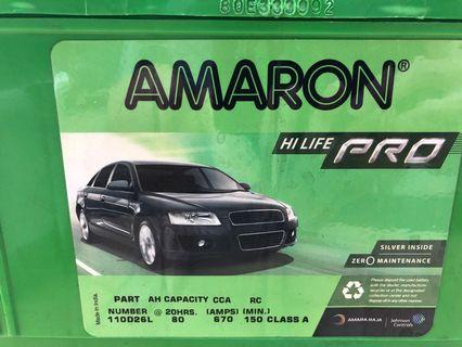 Amazon pro din 80ah for is250 accord 2.4 Camry