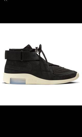 Nike X Fear of god 1 raid black