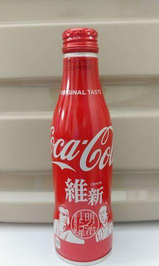 維新 明治維新日本可口可樂 可樂 地區限定 日本地區 紀念可樂 coca cola