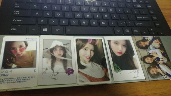 Twice Likey Photocard