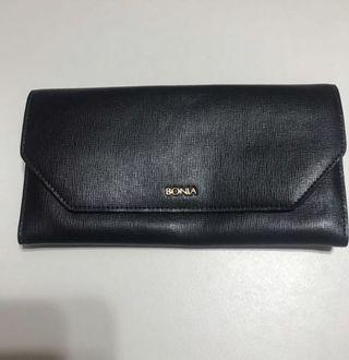 Authentic Black Classic Bonia Wallet