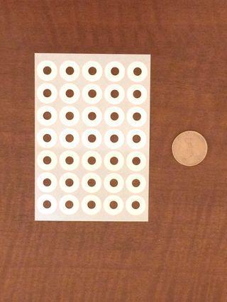 🇯🇵日本製 Hole Reinforcement Label
