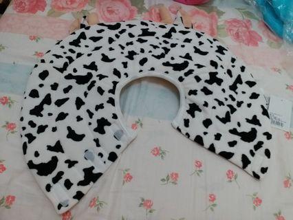 伊麗莎白圈~奶牛款 5號size