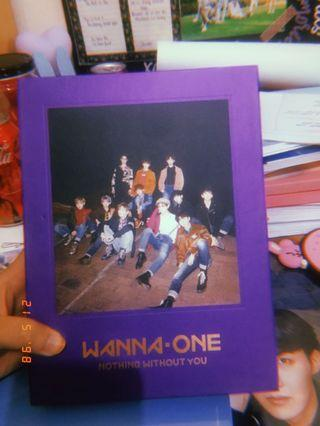 WANNA ONE ALBUM (I-I=O)