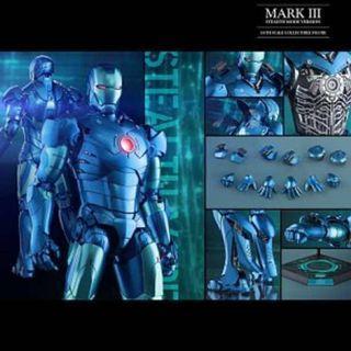 Hottoys mark 3 合金 smv 特別版 special ironman
