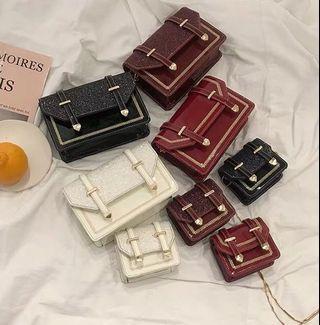 Korean Kera Glitter Mini Bag
