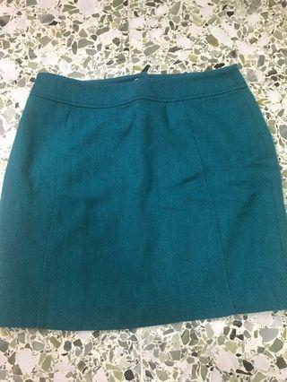 H&M Olive Green Short Skirt