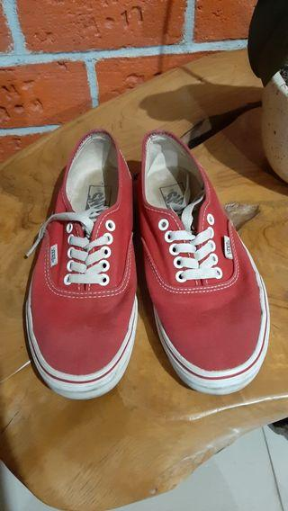 sneakers vans authentic original, size 39 mulus