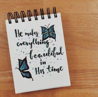🚚 Handmade Card 3 - Beautiful in His Time