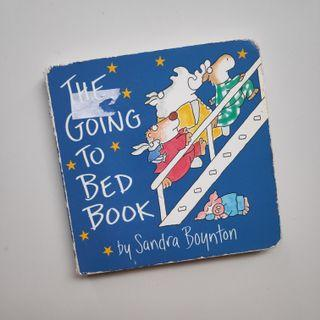 FREE - Going to bed board book