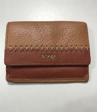 Authentic Bonia Mustard Brown Card Holder