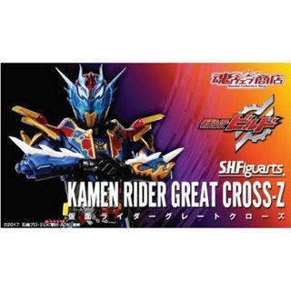 [YH]全新現貨 日版啡盒未開 SHF build Great Cross Z 幪面超人 Kamen Rider Masked S.h.figuarts