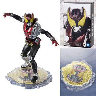[YH]全新現貨 日版 特典版 SHF 真骨彫 幪面超人 Kamen Rider Kiva 月騎 連特典地台 真骨雕
