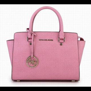 Michael Kors pink tote Bag 粉色手袋