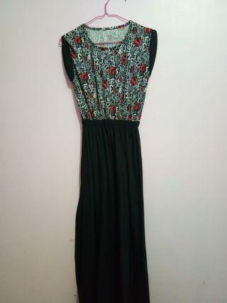 Long Dress Hitam #Bapau