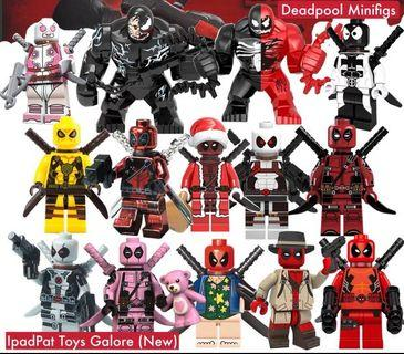 🚚 [BN] Deadpool Exclusive Minifigs Creative Designs Choose Any 3