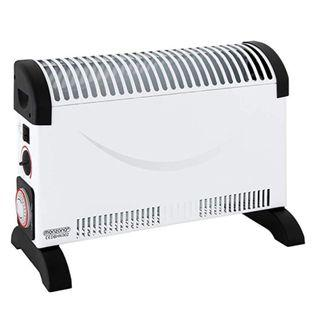 Monzana Electric Convector Heater Portable with Timer 2KW for Home Convection Heaters Low Energy Radiator 2000W