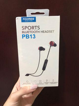 Foomee Sports Bluetooth Headset PB13