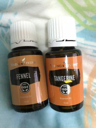 Young Living Essential Oil sett