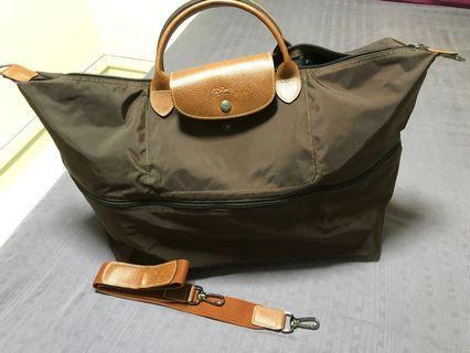 🚚 Expandable longchamp Le Pliage travel bag