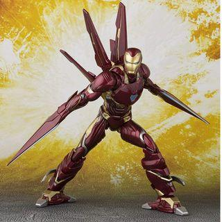 SHF Iron Man MK 50 Nano Weapon Set Avengers Ironman
