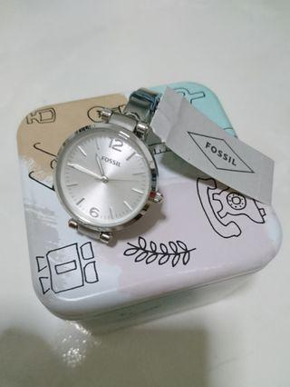 🚚 Fossil Metal Strap Stainless steel 32mm Diameter ES3083 (Authentic)