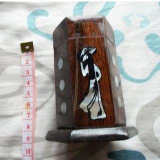 全新越南牙籤筒 實木牙籤盒 創意木質牙籤罐 中式古典牙籤盒