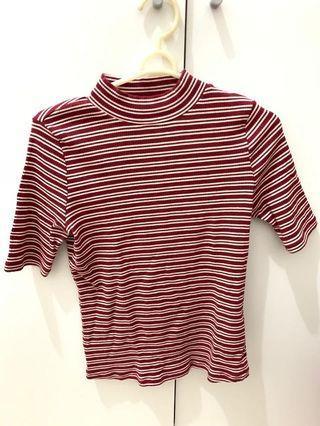Strip red