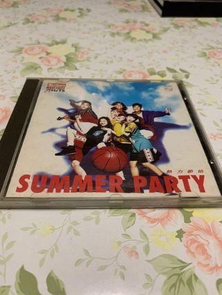 熱力節拍 summer party CD 編號005