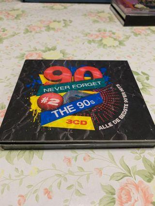 Never Forget The 90s #2 3CDs 編號007
