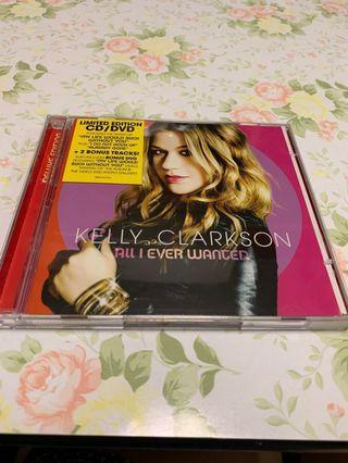 Kelly Clarkson All I Ever Wanted CD 加 DVD 編號008