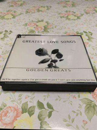 Greatest Love Songs - Golden Greats 3CDs 編號009