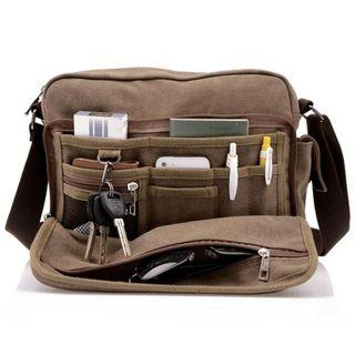 Multifunction Casual Canvas Bag for Men and Women