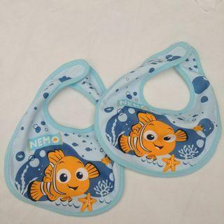 Nemo海底奇兵  嬰兒 BB 兒童 純棉防水口水肩 全新 出口日本已剪標