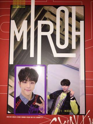 [WTT] Stray Kids MIROH Photocards