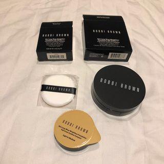 Bobbi Brown Skin Foundation Cushion Compact SPF 50 Refill & Case Light to Medium