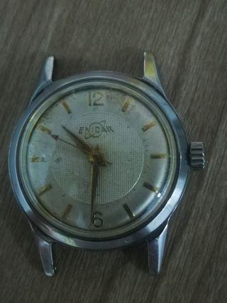 瑞士enicar古董手錶,上鍊,(不連表帶)