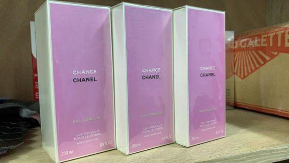$365 Chanel chance fraiche body lotion 200ml 邂逅綠色 身體露 清新田園氣息