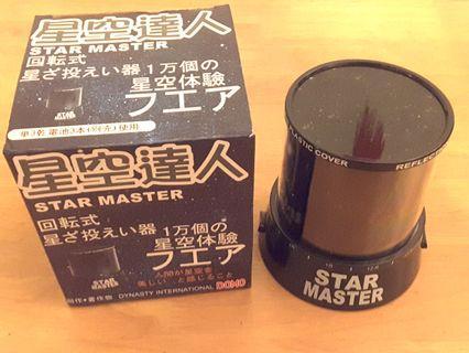 星空達人 Star Master 家居 裝飾 有原裝盒 九成九新 少用