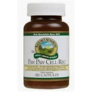 NATURE'S SUNSHINE Paw Paw Cell-Reg Capsules, 180 Count