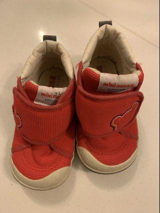 Baby Shoes Miki House