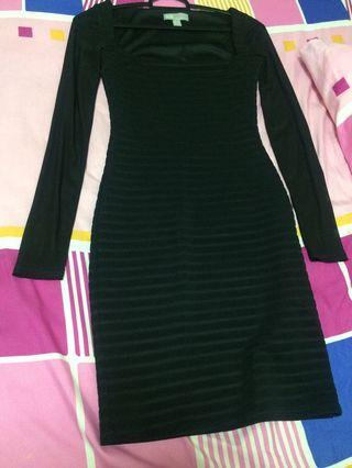 ASOS Black Dress Fitted