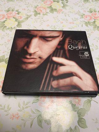 Bach: Cello Suites / Jean-Guihen Queyras 2CDs 加 1DVD 編號011