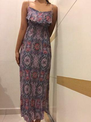 Cotton On summer floral batik long maxi dress