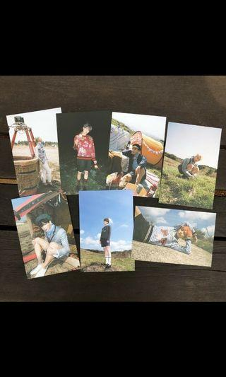[SECURED SET] young forever armypedia postcard set