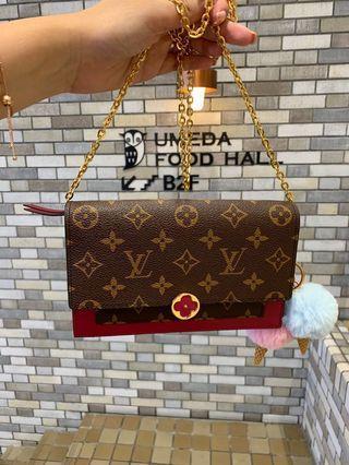 Louis Vuitton flore wallet on chain bag (woc)