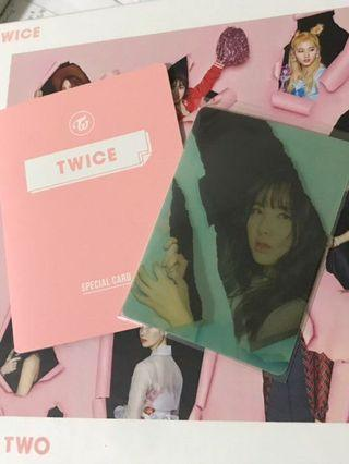 TWICE nayeon lenticular cheer up special moving card page 2 lenticular