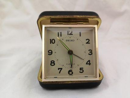 Vintage Velina 2-jewels Travel Alarm Clock
