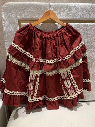 Maxicimam Magical Flute Marionette Red Skirt lolita
